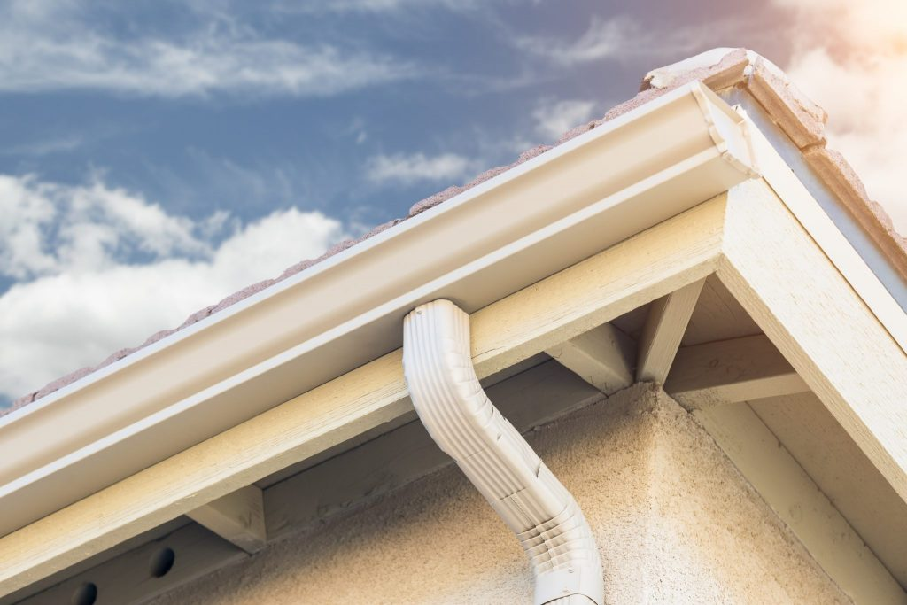 gutters and downspout