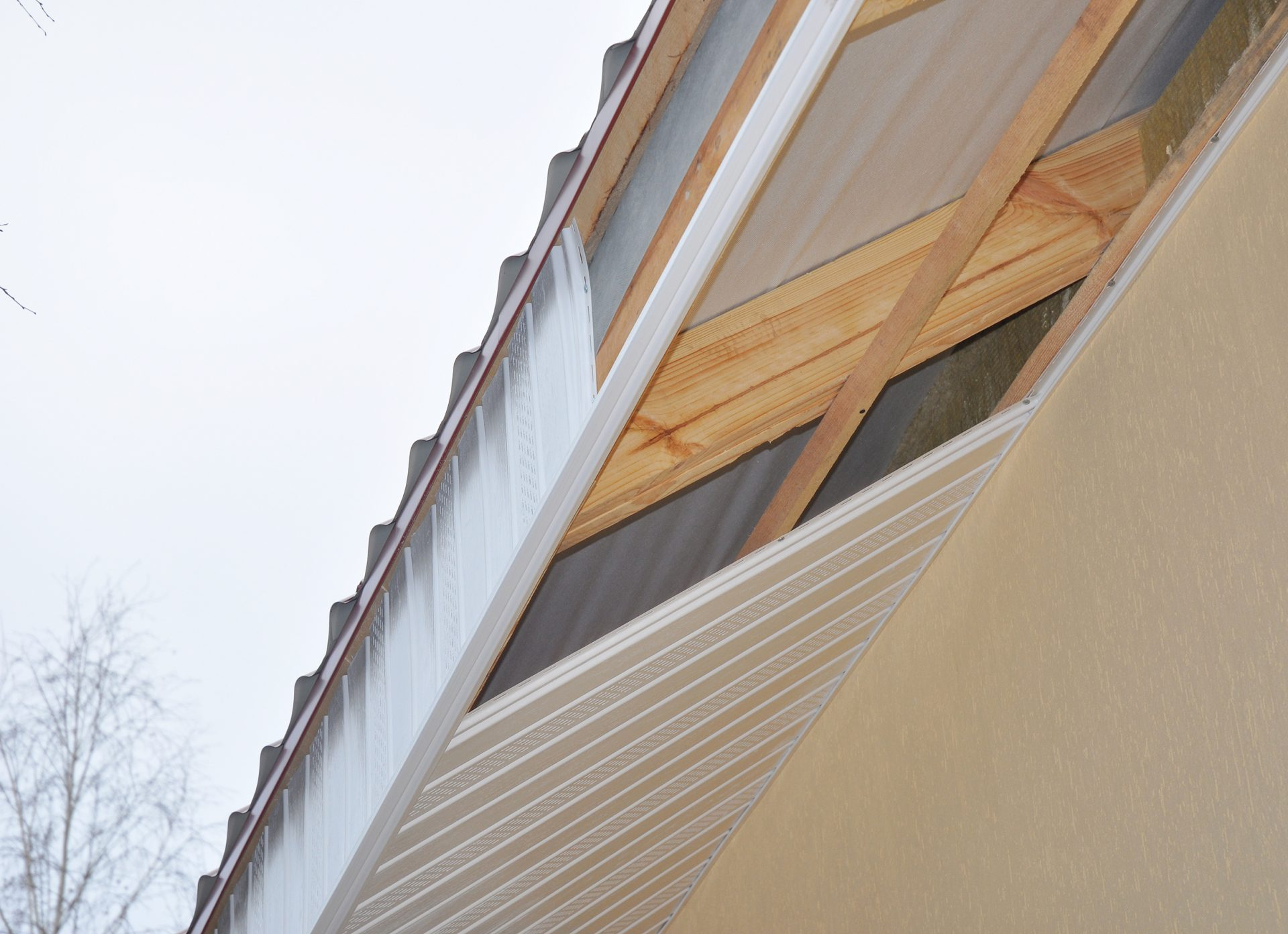 Fascia Board And Soffit Board Replacement
